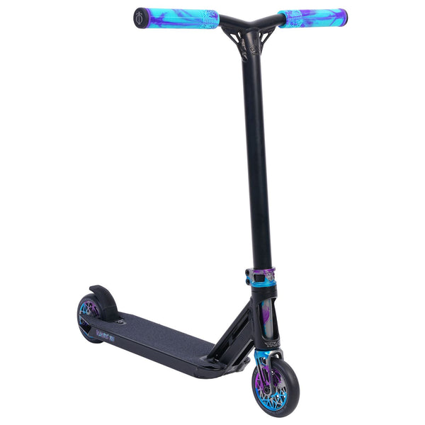Triad Psychic Delinquent Mini Complete Scooter - Black/Blue/Purple/Goblin