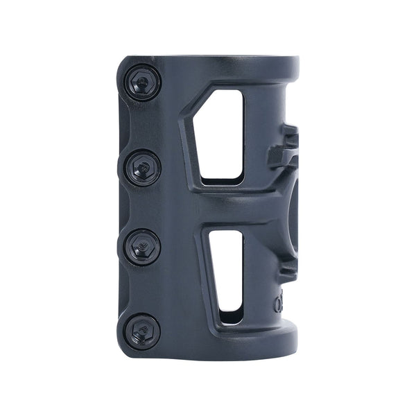 Oath Cage V2 Alloy 4 Bolt SCS Clamp Anodised Satin Black