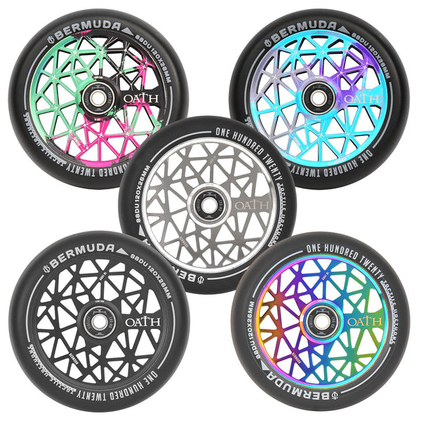 Oath Bermuda 120mm Wheels Neo Silver