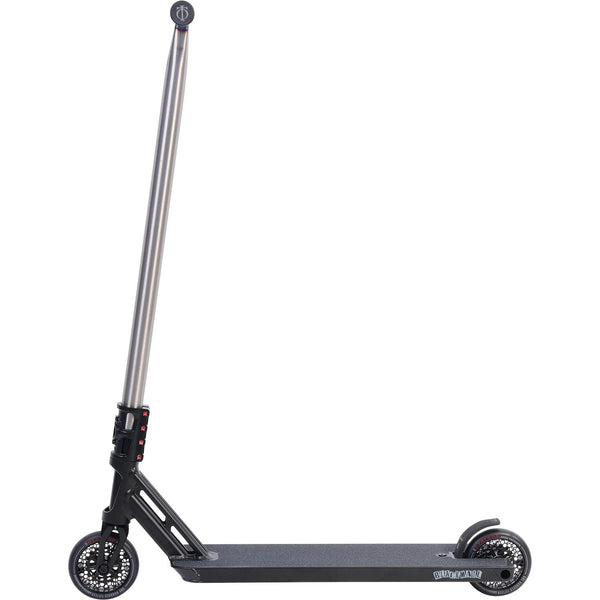 Triad Psychic Black Mail Complete Scooter - Satin Black/Black/Snake