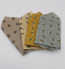 Load image into Gallery viewer, 4pck 30cm x 30cm beeswax food wrap