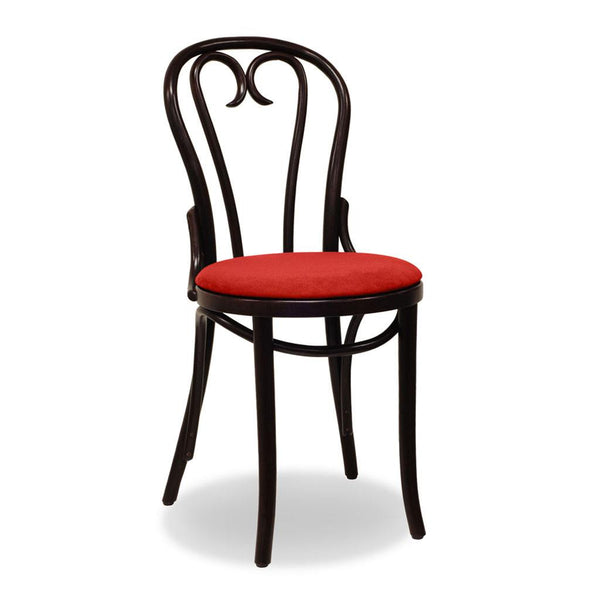 Bon Uno Est Bentwood Chair - Wenge - Restaurant and Cafe Chair - Nufurn Commercial Furniture