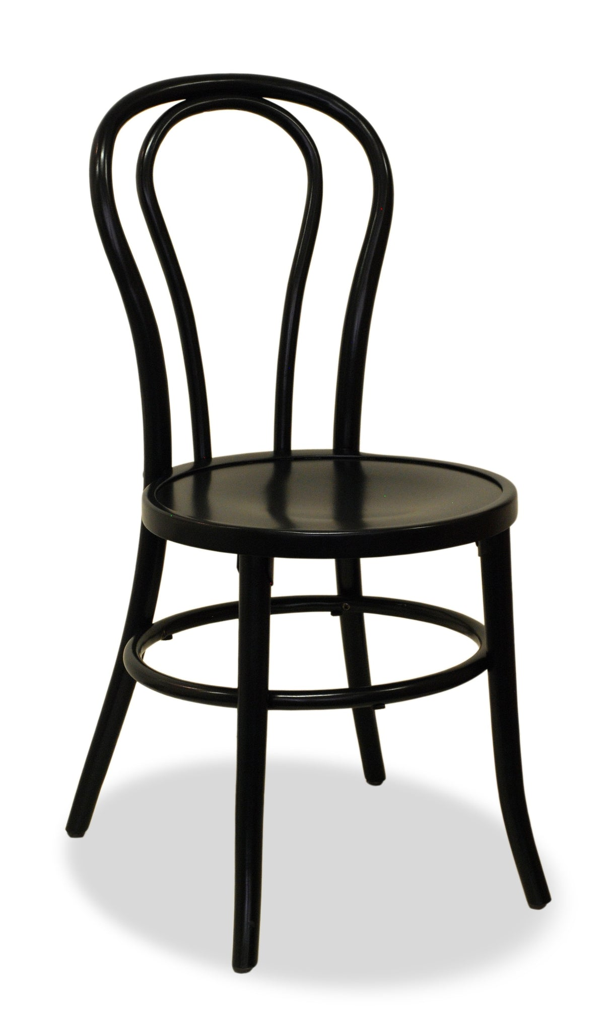 black bentwood chair - bon uno s