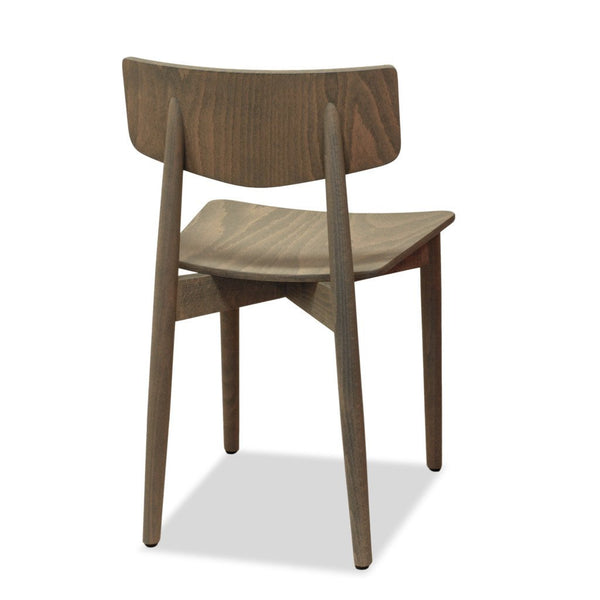 Capri - Bentwood Chair - Dark Grey Wash