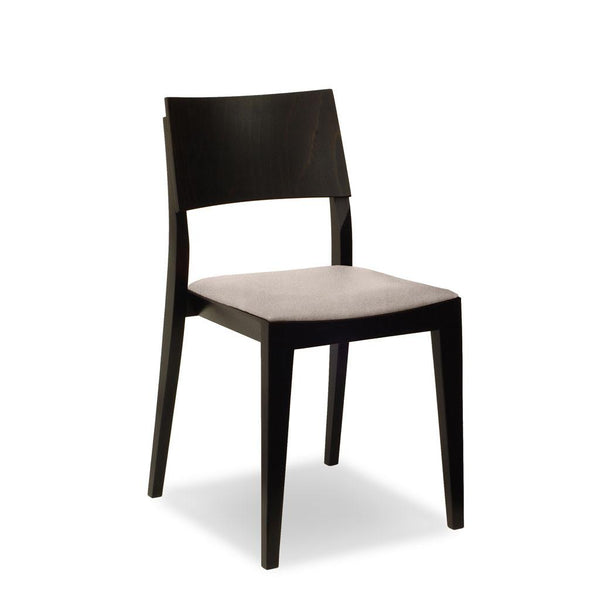 bentwood restaurant chair - dark walnut - icon