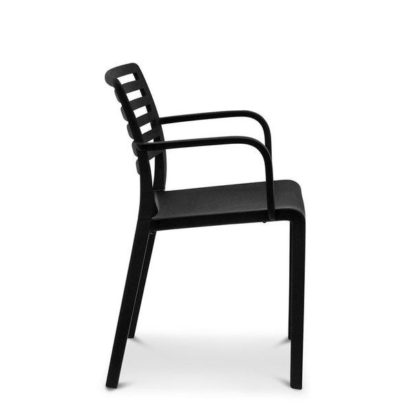 lama - black cafe chair