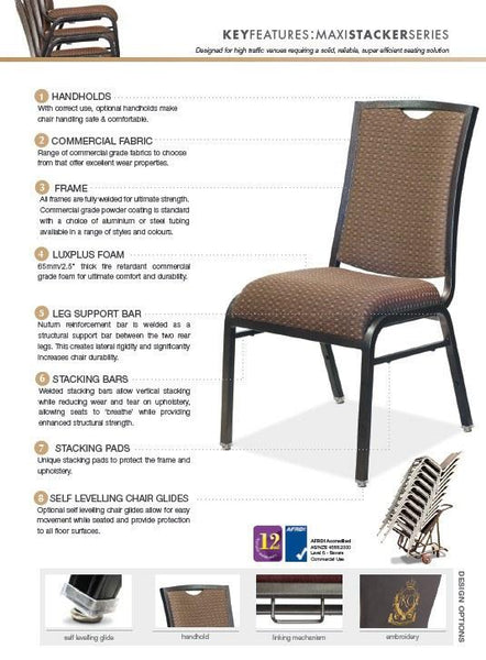 Ambassador Banquet Chair - Nufurn Commercial Furniture