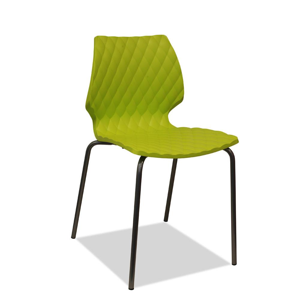 green restaurant chair - uni chair