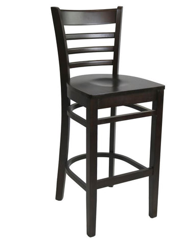 Venice Barstool Timber Seat