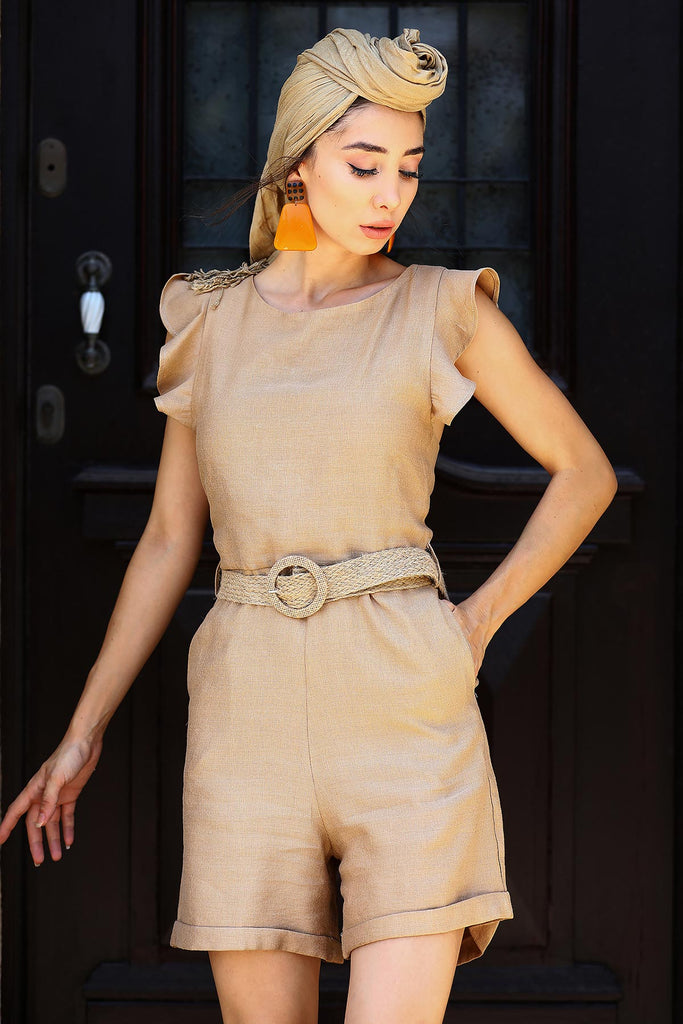 Belted Overall