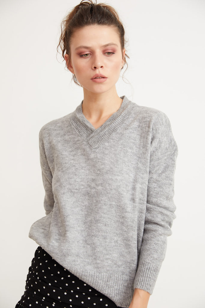 V NeckTricot Sweater