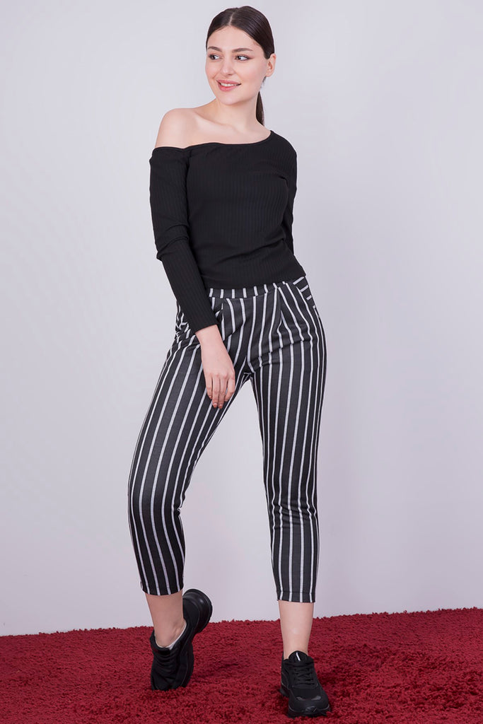 Striped Pocket Pants