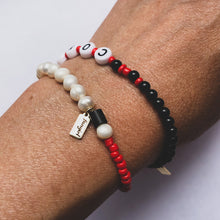 Load image into Gallery viewer, 'YOUR TEAM' ONYX BRACELET