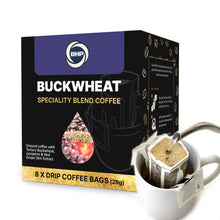 Load image into Gallery viewer, BHP Buckwheat Specialty Blend Coffee, 8 Drip Bags x 28g - Buckwheat Healthcare Products Pte Ltd