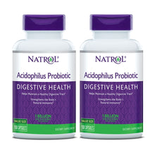 Load image into Gallery viewer, [Pack of 2] Natrol, Acidophilus Probiotic, 1 Billion Live Cultures, 150 Capsules - Buckwheat Healthcare Products Pte Ltd