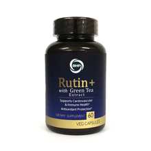 Load image into Gallery viewer, BHP Rutin+ with Green Tea Extract, 1000mg, 60 Veg Capsules - Buckwheat Healthcare Products Pte Ltd