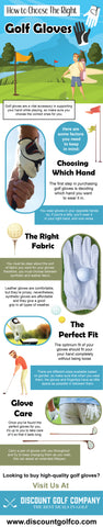 How to choose the right golf glove - Infograph