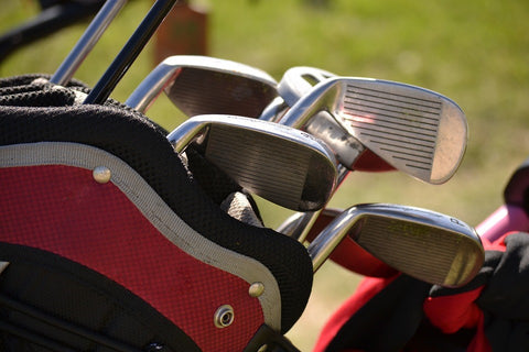 picture showing golf clubs