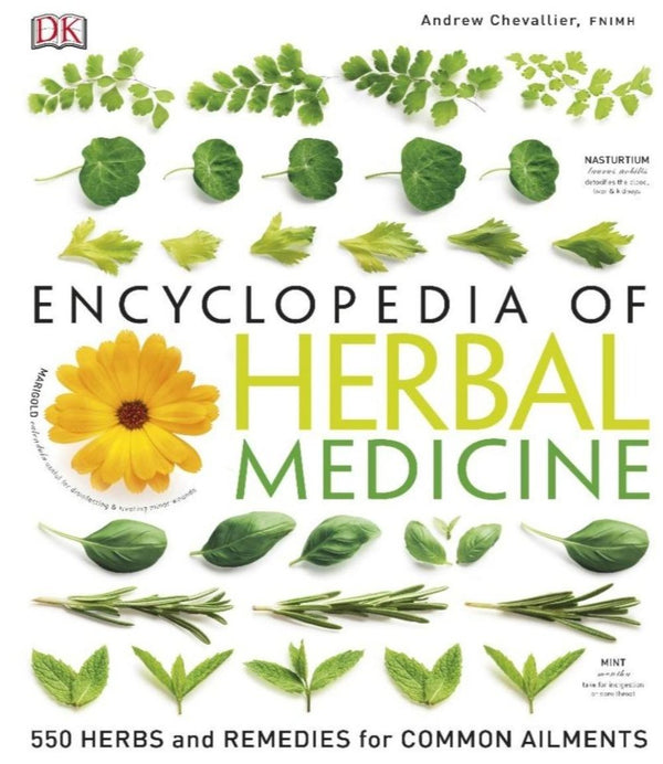 ENCYCLOPEDIA OF HERBAL MEDICINE - CHEVALLIER - 335 PAGES