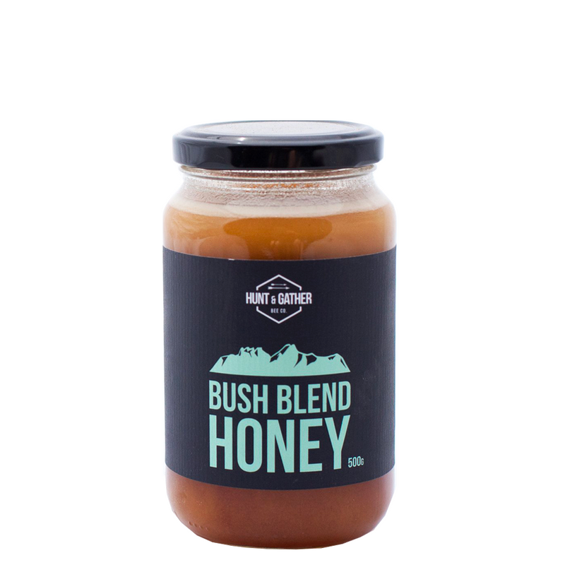 HUNT & GATHER BEE CO BUSH BLEND LOCAL HONEY