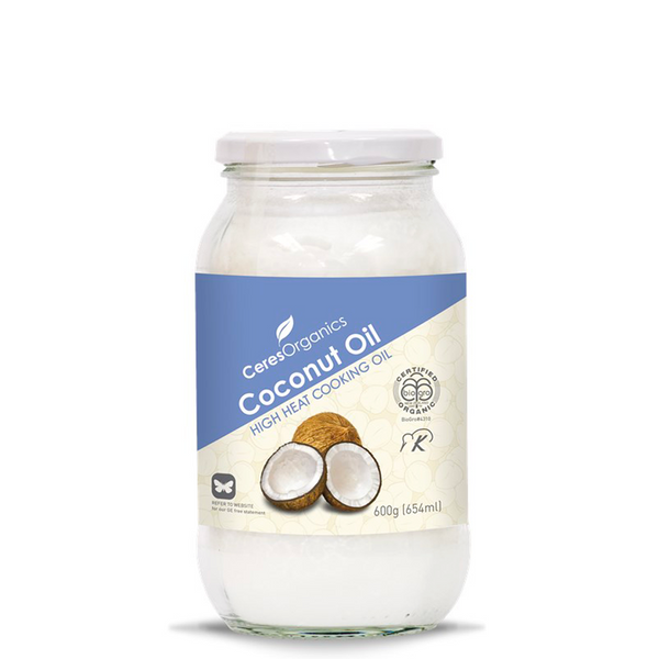CERES ORGANICS HIGH HEAT ORGANIC COCONUT COOKING OIL