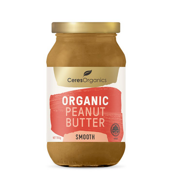 CERES ORGANICS ORGANIC PEANUT BUTTER SMOOTH 700G