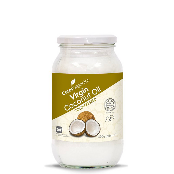 CERES ORGANICS VIRGIN COLD-PRESSED ORGANIC COCONUT OIL