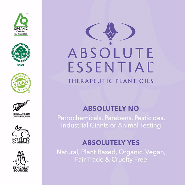 ABSOLUTE ESSENTIALS ORGANIC PEPPERMINT 10ML