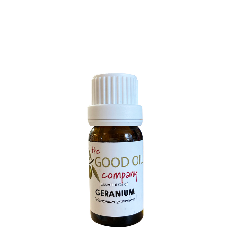 GOOD OIL COMPANY GERANIUM ESSENTIAL OIL 10ML