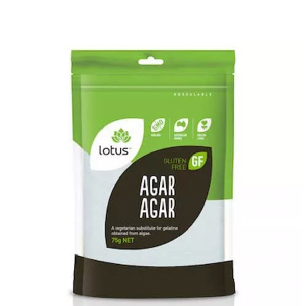 LOTUS AGAR AGAR POWDER 75G
