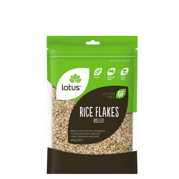 LOTUS ROLLED RICE FLAKES 500g