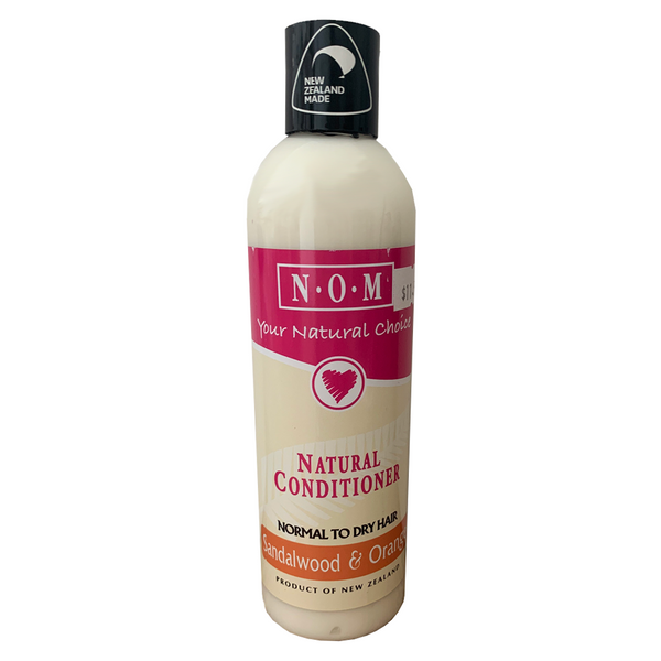 N.O.M SANDALWOOD & ORANGE NATURAL CONDITIONER 250ML