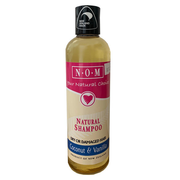 N.O.M COCONUT & VANILLA NATURAL SHAMPOO 250ML