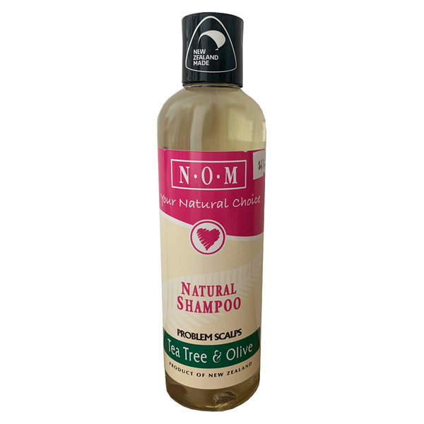 N.O.M TEA TREE & OLIVE NATURAL SHAMPOO 250ML