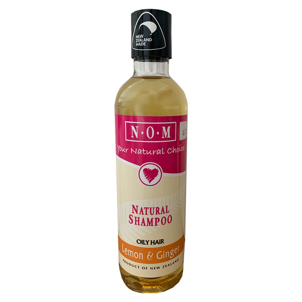 N.O.M LEMON & GINGER NATURAL SHAMPOO 250ML