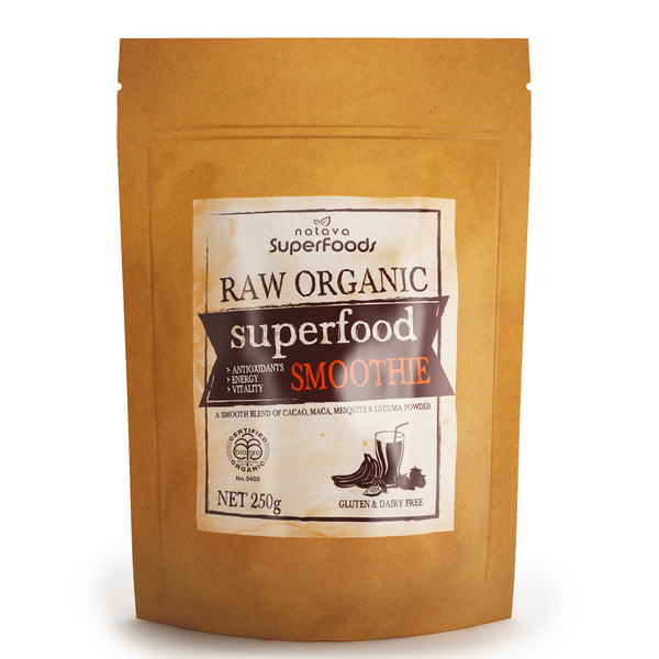 NATAVA ORGANIC SUPERFOOD SMOOTHIE POWDER 250G