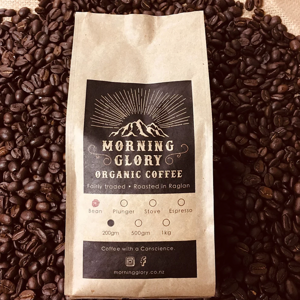 MORNING GLORY ORGANIC COFFEE BEANS