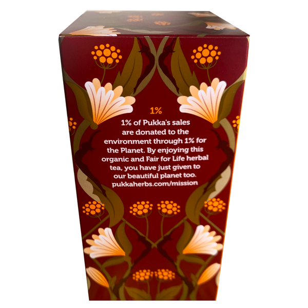 PUKKA ORGANIC AFTER DINNER TEA BOX