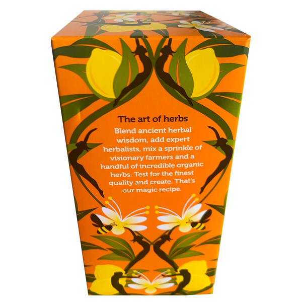 PUKKA ORGANIC LEMON GINGER HONEY TEA BOX