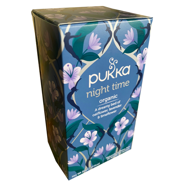 PUKKA ORGANIC NIGHT TIME TEA BOX