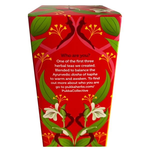PUKKA ORGANIC REVITALISE TEA BOX