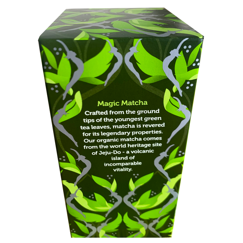 PUKKA ORGANIC SUPREME MATCHA GREEN TEA BOX