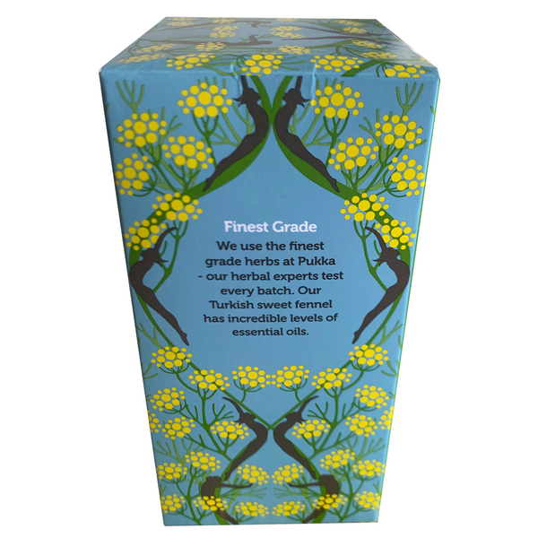 PUKKA ORGANIC THREE FENNEL TEA BOX