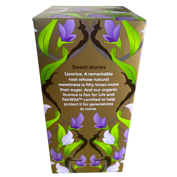 PUKKA ORGANIC THREE LICORICE TEA BOX