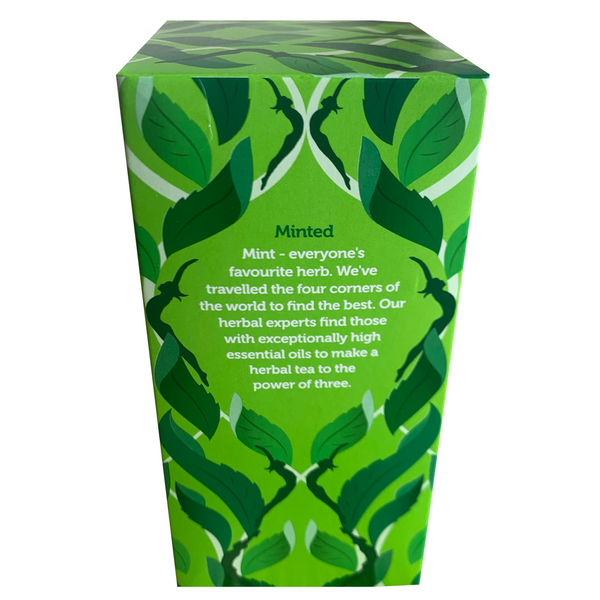 PUKKA ORGANIC THREE MINT TEA BOX