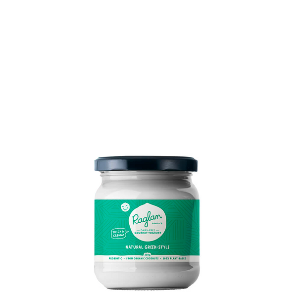 RAGLAN DAIRY FREE COCONUT YOGHURT NATURAL GREEK 350G