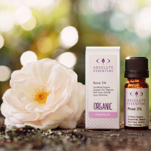 ABSOLUTE ESSENTIALS ORGANIC ROSE 3% 10ML