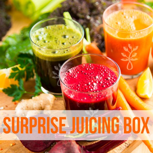 A SURPRISE ORGANIC MIXED JUICING BOX