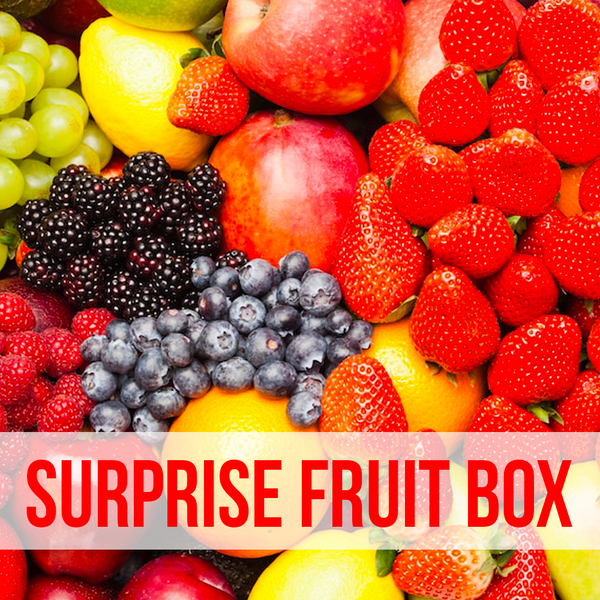 A SURPRISE ORGANIC FRUIT BOX