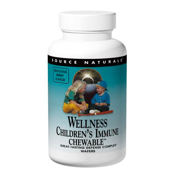 SOURCE NATURALS WELLNESS CHILDREN'S IMMUNE 60 CHEWABLES